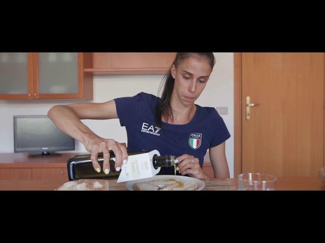 Martina Centofanti ambasciatrice Italia Team nel Lazio per l'olio extravergine italiano di qualità