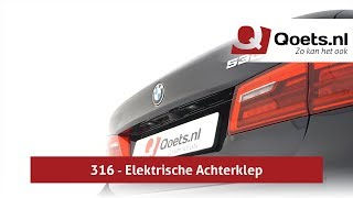 Qoets.nl - BMW 5-serie (G30) - 316 - Elektrische Achterklep Video