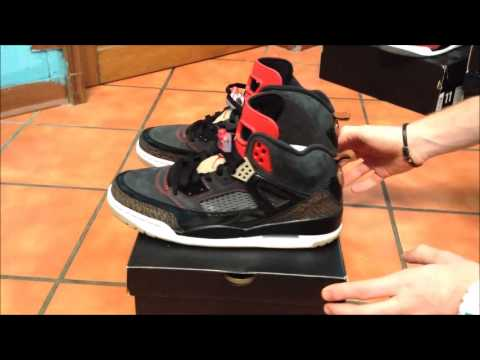 e6b4cf30c056 Air Jordan Spiz ike Challenge red review   on foot - YouTube