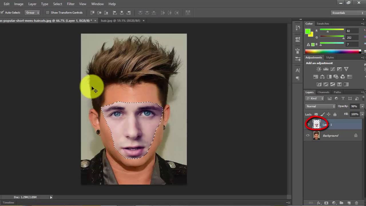 How to change face in adobe photoshop cs6khmer tutorial2016 youtube how to change face in adobe photoshop cs6khmer tutorial2016 baditri Images