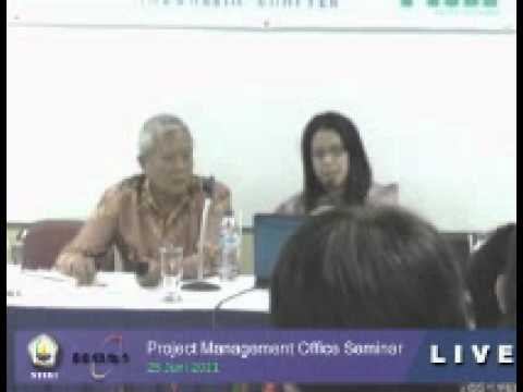 """STIKI """"One Day Seminar Project Management Office"""" by Anna Khodijah,Mebiz,PMP.PMI-SP(1)"""