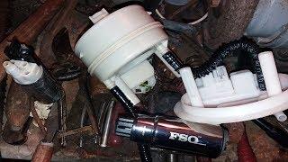 видео Замена и установка топливного фильтра на Рено Дастер