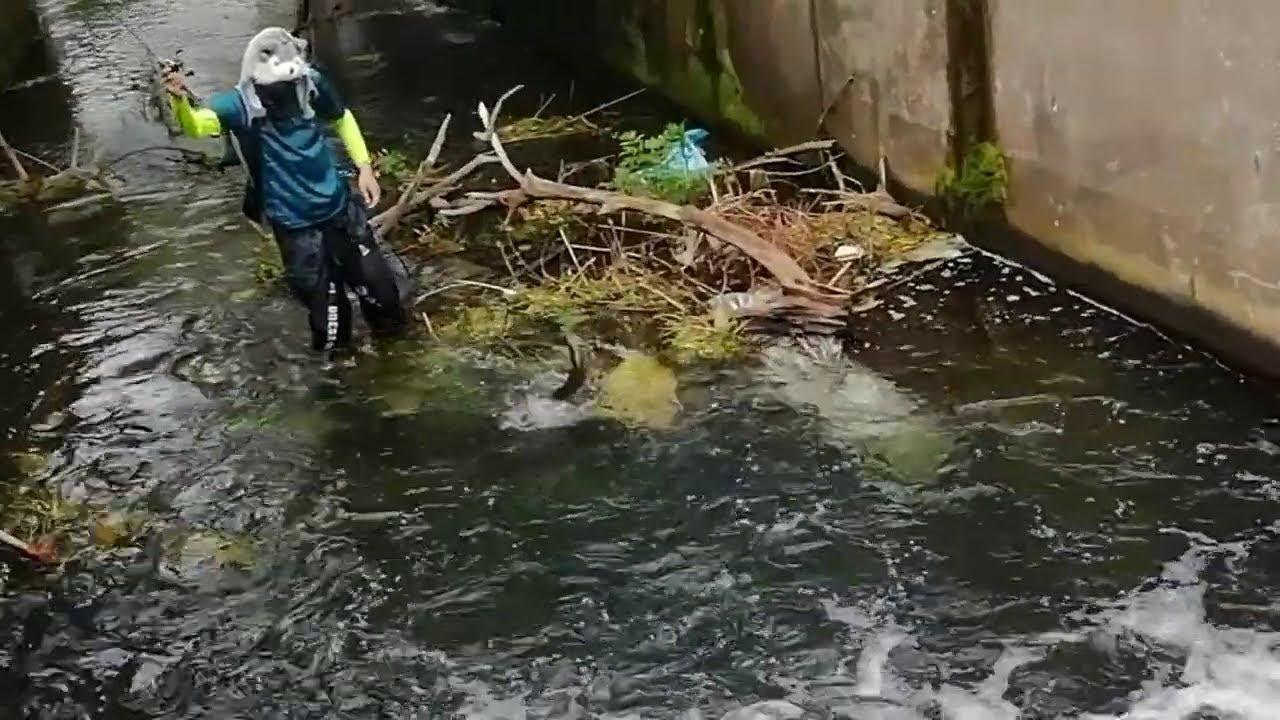 This HIDDEN Tiny Spillway was Hiding a Monster!!!