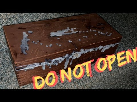 Opening a Real Cursed Dybbuk Box at 3AM (Gone Wrong)