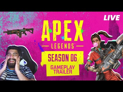Apex Legends Season 6 – Boosted Gameplay Trailer | Watch party from YouTube · Duration:  4 hours 43 minutes 20 seconds