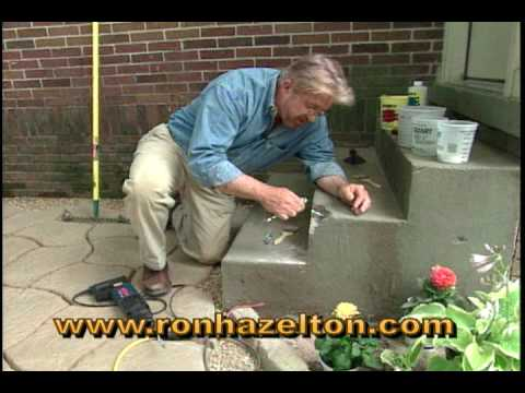 How To Repair Concrete Steps   YouTube