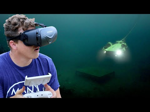 Searching for Old Sunken Town Using Underwater Drone