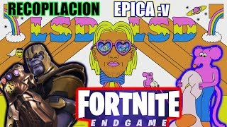 FORTNITE X AVENGERS END GAME EPIC COLLECTION - LSD - GENIUS Sia, Diplo, Labrinth