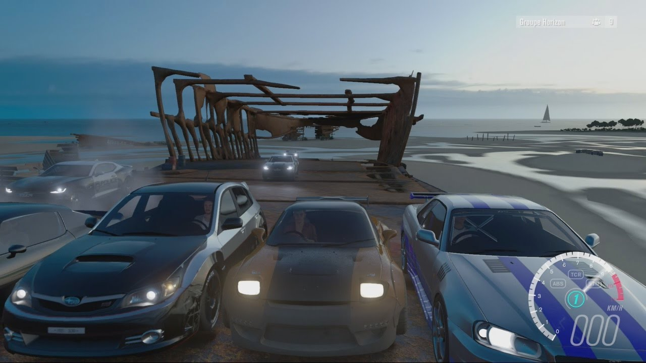 forza horizon 3 course poursuite avec des voitures cultes de film jeux videos youtube. Black Bedroom Furniture Sets. Home Design Ideas