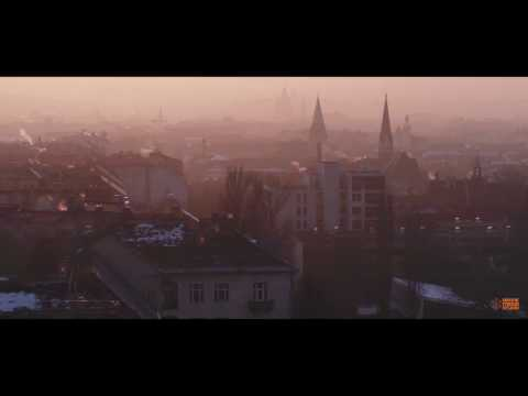 Budapest szmog | Pretty smoggy sunset in the Hungarian capital - drone video