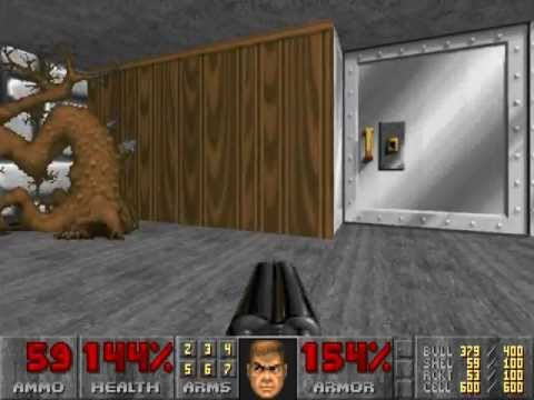 Doom 2 (Doom 3: BFG Edition) - Censored Wolfenstein Maps