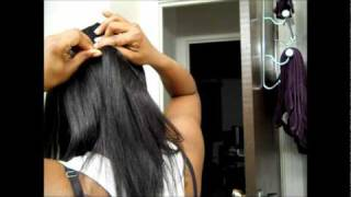 Chocolate Hair Sew-In Weave Part 1