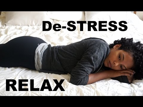 Relax & De-Stress // Night Routine