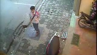 Video mất trộm xe