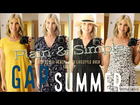 THE GAP SUMMER 2019 IN STORE CLOTHING TRY-ON