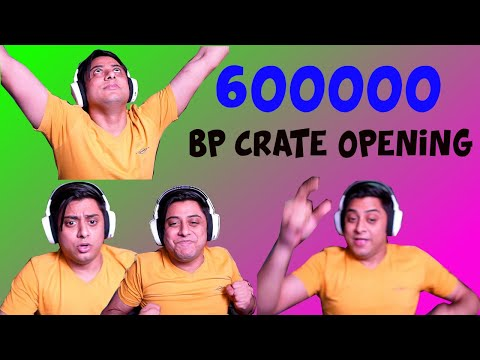 600000 Crate Opening PUBG Mobile | Biggest BP Crate Opening Ever