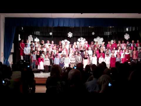 Centennial Lane Elementary School Winter Concert Dec 2011