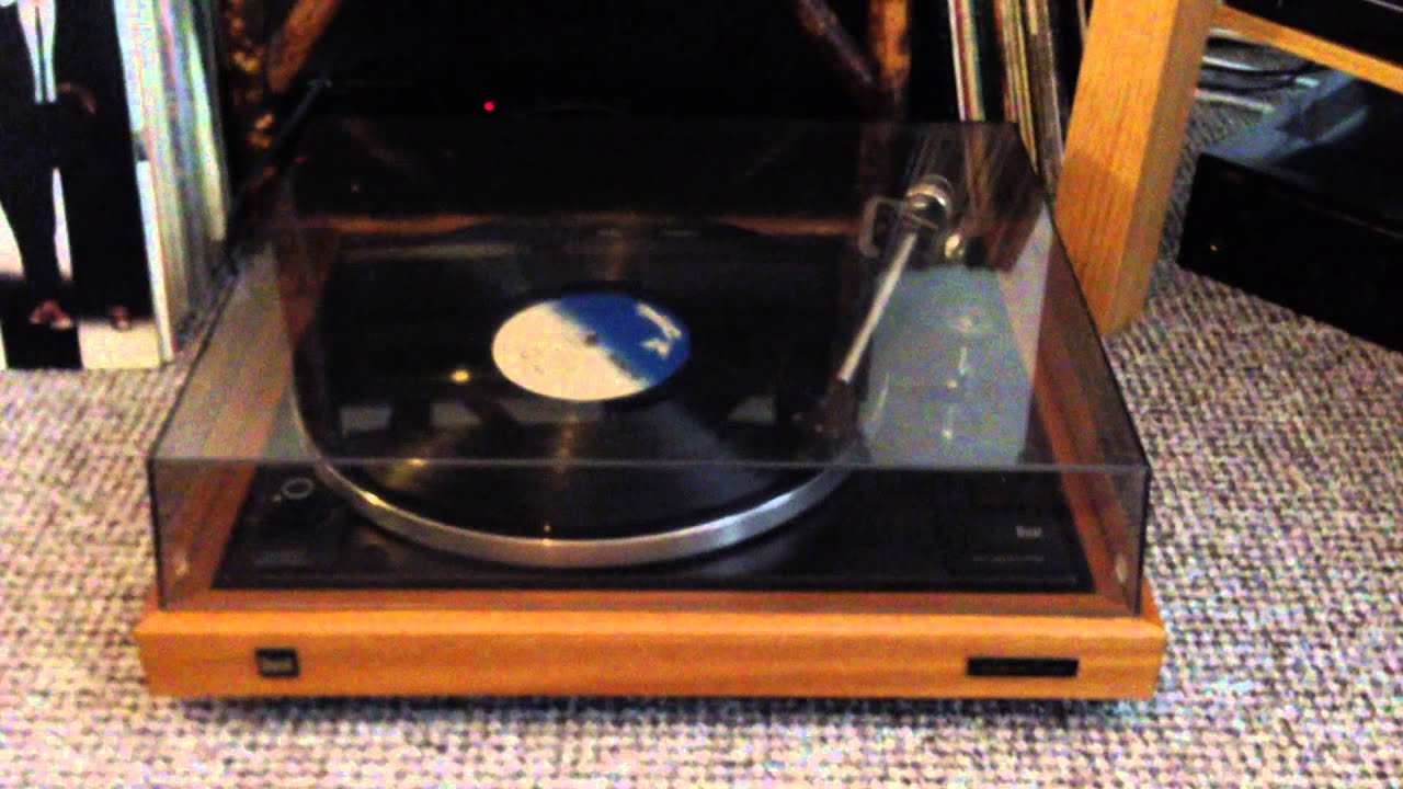 Record Turntable Dual Cs 505-3 Turntable Demo - Youtube