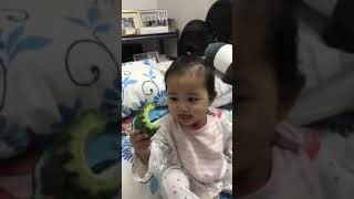 Baby ACEN vs Ampalaya (bittergourd) 🤗😋