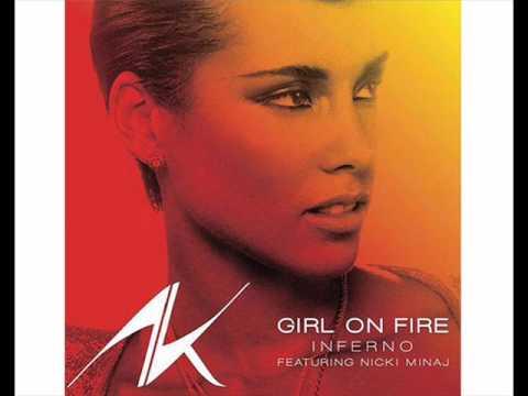 Alicia Keys Ft Nicki Minaj - Girl On Fire