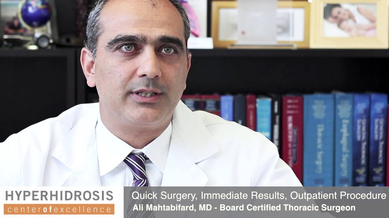 Meet Expert Thoracic Surgeons Los Angeles | HyperhidrosisMD