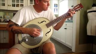 Turkey Tone #8 - Enamelware Parlor Guitar