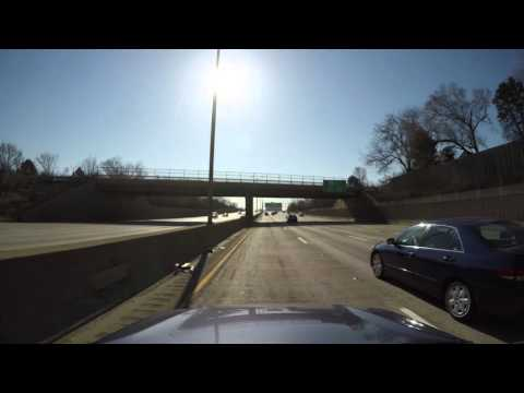 Interstate 290 East Bound From Schaumburg to Chicago Downtown (Front Camera)