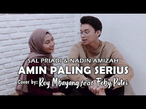 Sal Priadi & Nadin Amizah - Amin Paling Serius. Cover; Reymbayang&Febyputri (Official Musik Vidio)