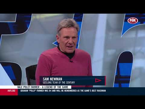 Sam Newman's beautiful tribute to Polly Farmer | AFL 360