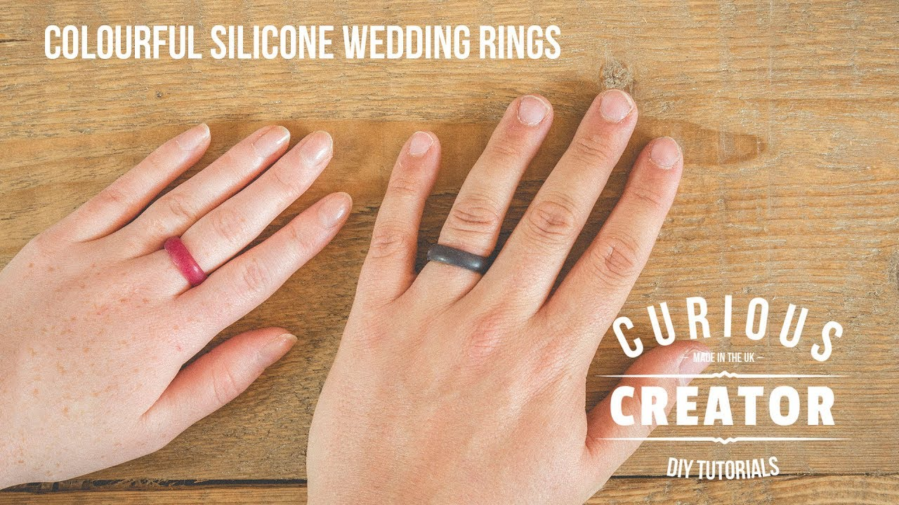 6 Colourful Silicone Wedding Ring Diy Curious Creator Youtube