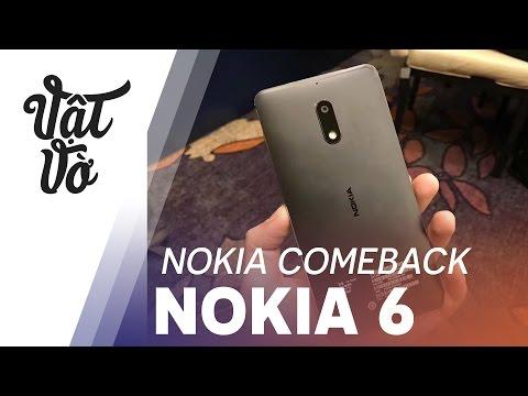 Vật Vờ| Nokia chính thức quay trở lại: Nokia 6