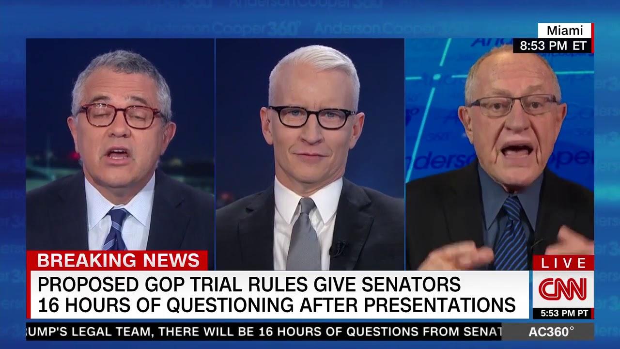 Anderson Cooper and Jeffrey Toobin fact-check Alan Dershowitz
