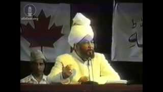 Concluding Address, Jalsa Salana Canada July 1991.
