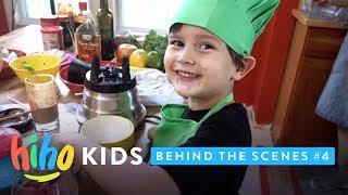 Behind the Scenes   HiHo Vlog   HiHo Kids