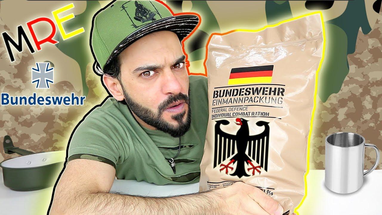 تحدي أكل طعام الجيش الألماني
