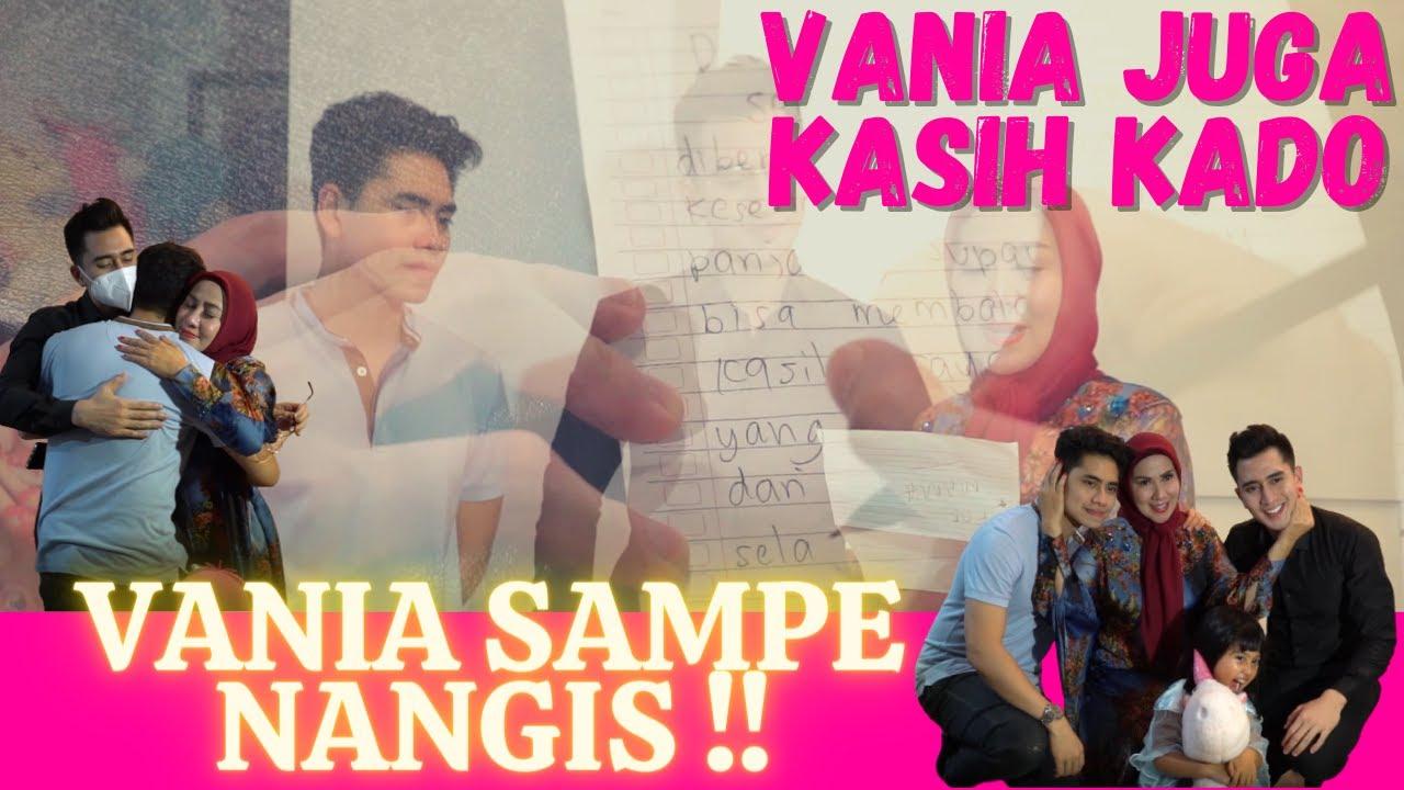 TERHARU !! VERRELL KASIH KADO SPECIAL KE MAMAH | VANIA NANGIS !!