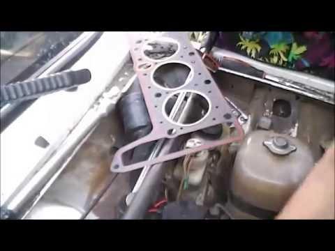 ВАЗ 2103.  Кипит мотор.  Замена прокладки ГБЦ.