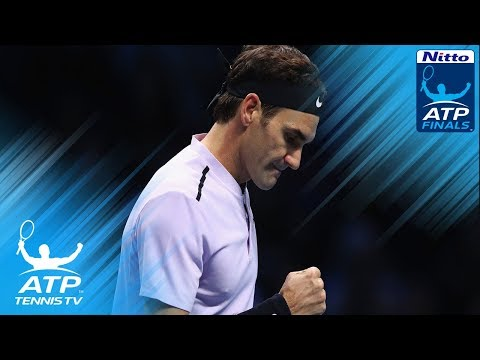 Federer first into semi-finals; Sock records first win   Nitto ATP Finals 2017 Highlights Day 3