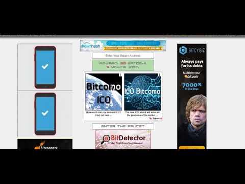Bedava Bitcoin Kazanacağınız 3 Site 5 Dakikada 200 Satoşi Kazandım