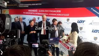 ZiarulClujean.ro - 2 milioane de pasageri pe Aeroportul din Cluj-Napoca