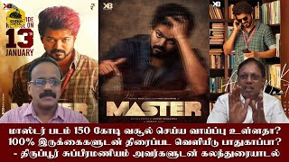 Master:Will it collect 150 crore in Tamil Nadu? Is 100% occupancy safe for audience? | G.Dhananjayan