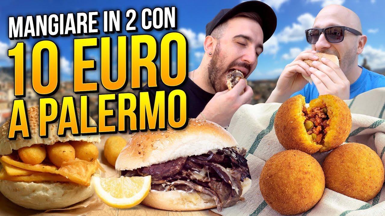 Download 10 EURO CHALLENGE: MANGIARE IN DUE a PALERMO con 10 EURO!