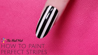 The most basic skill you need to master in order to better you nail art is stripes and lines. With this one basic lesson you can apply this same concept to any level ...