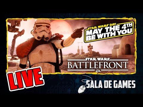 Star Wars Battlefront | Star Wars Day | LIVE | Melhores Momentos #4