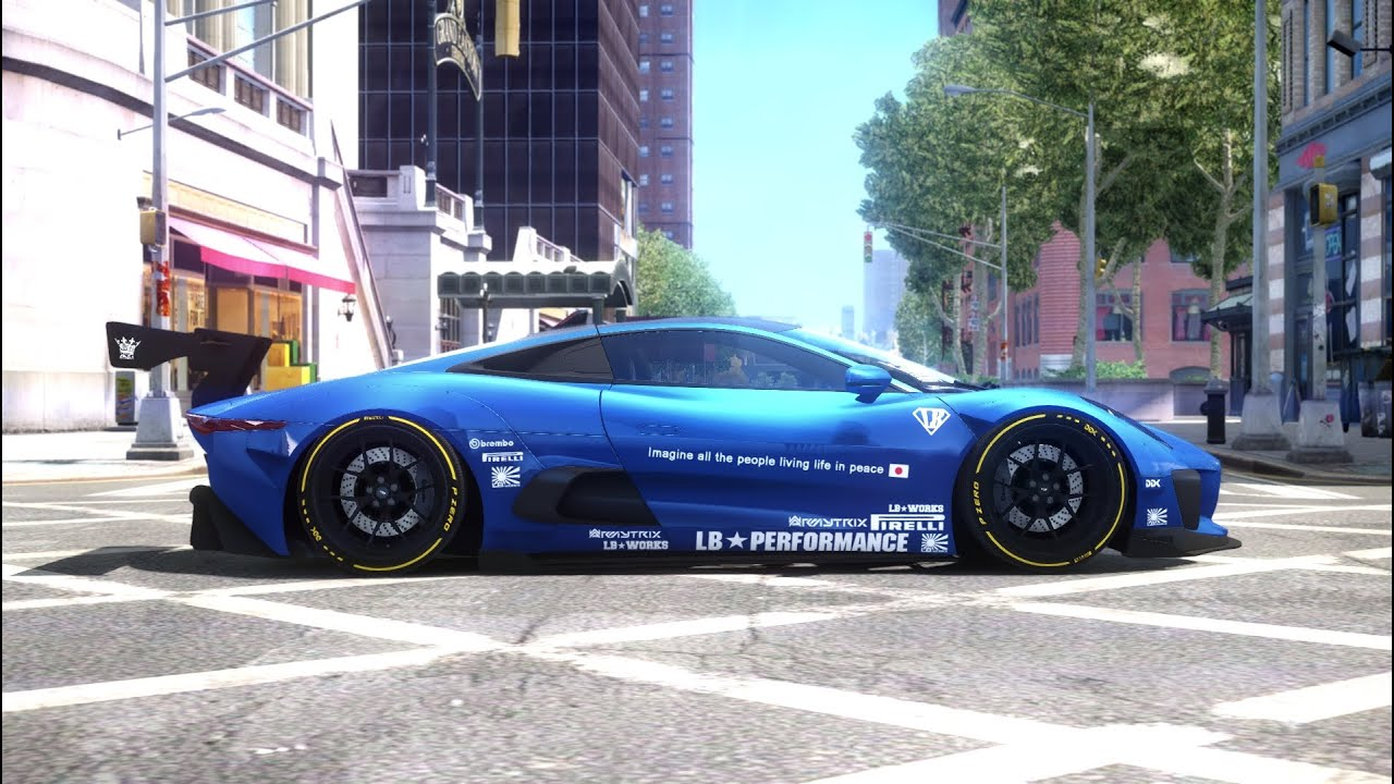 Jaguar Liberty Walk Concept By Ddk Performance Gta Iv Youtube