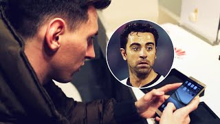 The text Lionel Messi sent to Xavi right before Quique Setién was hired | Oh My Goal