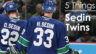 5 Things About The Sedin Twins