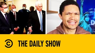 Trevor Noah Covers Outrageous Coronavirus Mask Infractions | The Daily Show With Trevor Noah