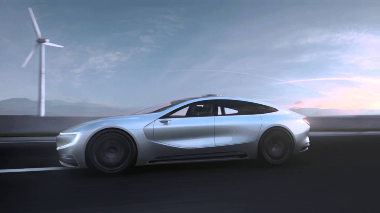 Promo Video Of Leeco S Lesee All Electric Car Concept Electrek You
