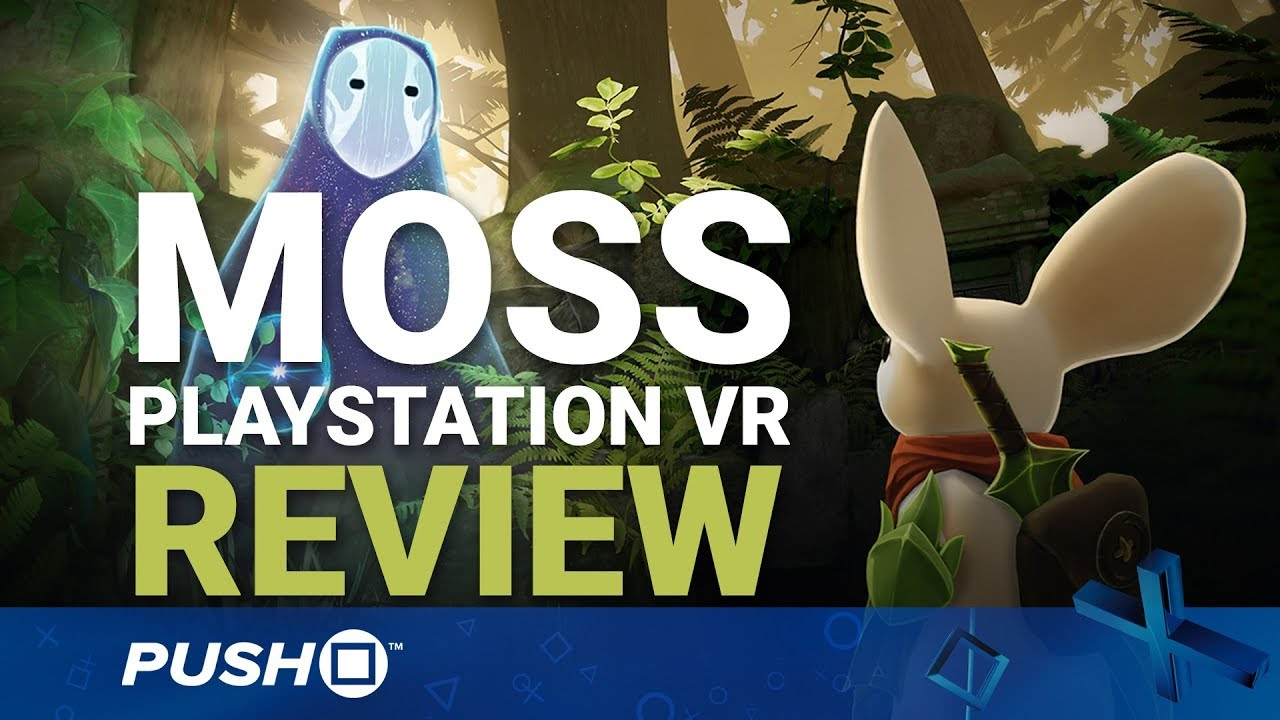 Moss PSVR Review: Puzzle Platforming Perfection? | PlayStation VR | PS4 Pro Gameplay Footage ...